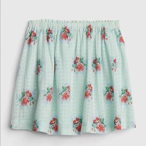Gap Toddler Rose Skirt